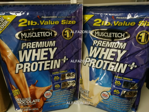 Premium Whey Protein Plus (MuscleTech) фото 4