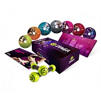 7 DVD Zumba Fitness Exhilarate